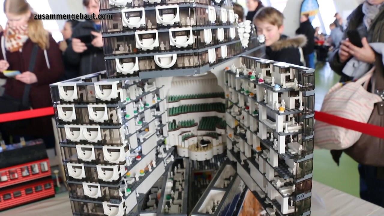 Lego Modell Der Elbphilharmonie In Hamburg Youtube