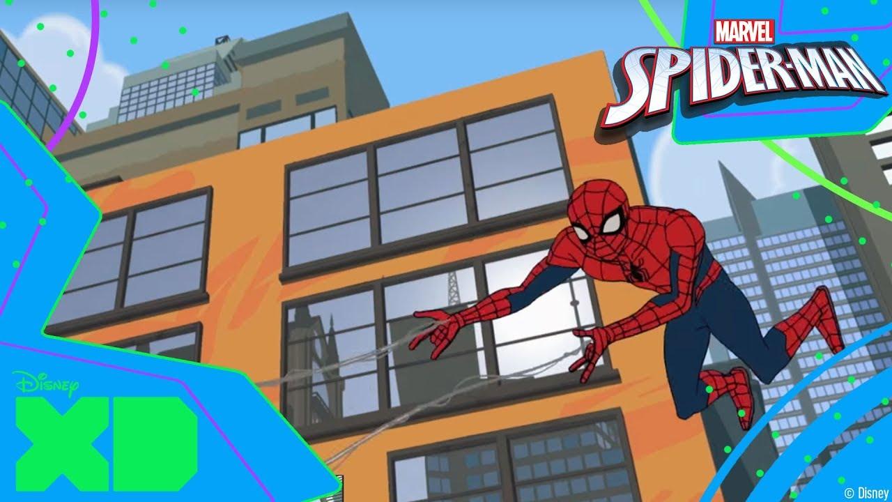 Marvel Spider-Man - Pająk naukowiec. Ciśnienie powietrza