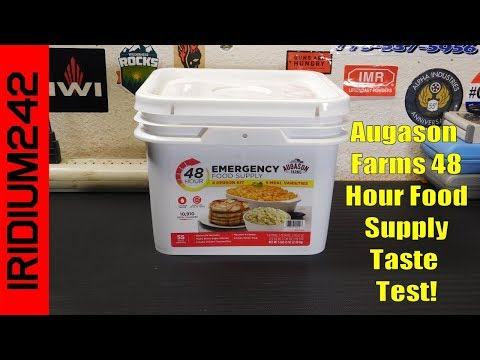 Augason Farms 48 Hour Emergency Food Supply 4 Person Kit