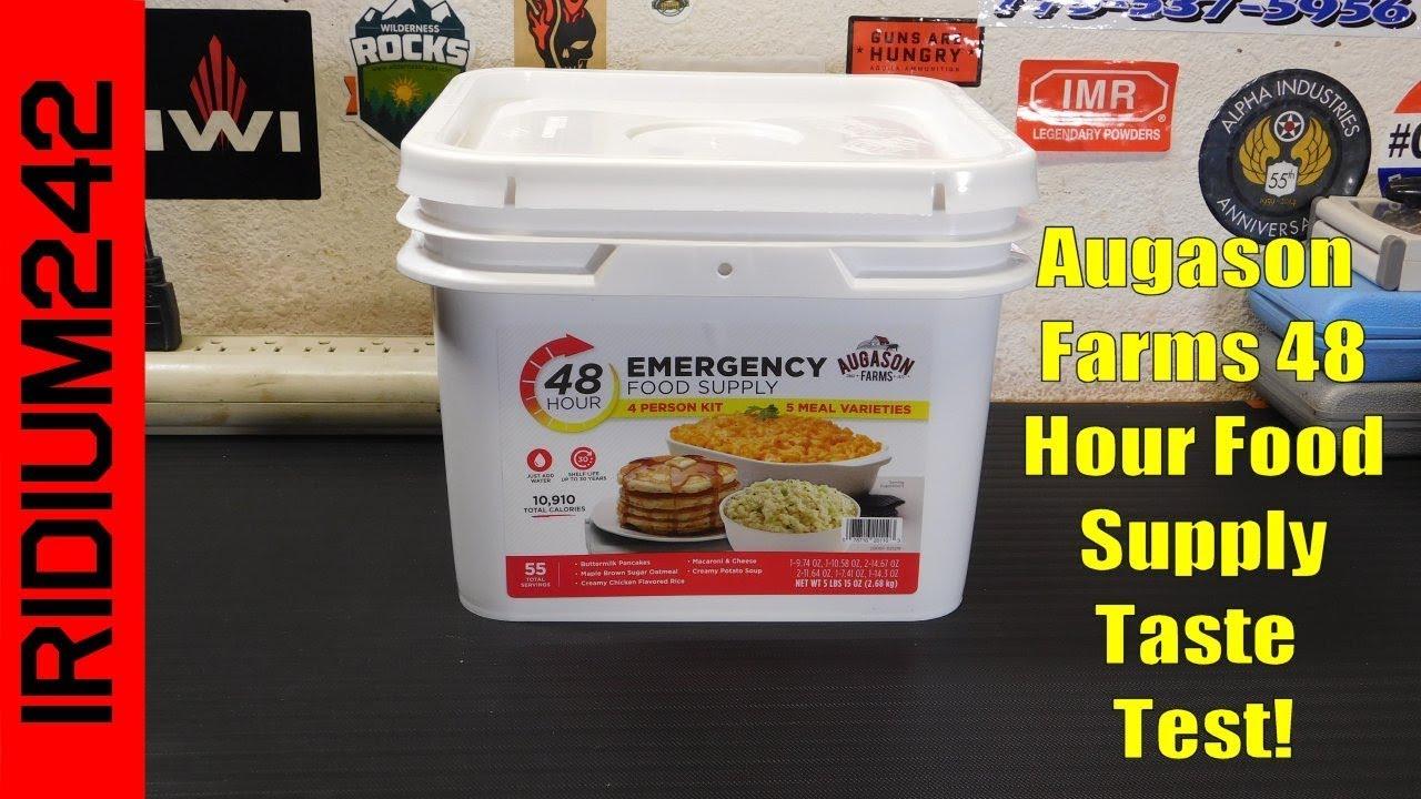 Auguson Farms: Augason Farms 48 Hour Emergency Food Supply 4 Person Kit