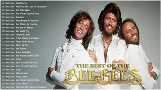 Bee Gees Soft Rock Love Songs Playlist - Best Songs Of  Bee Gees