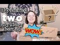 Opening Two EBAY MYSTERY BOXES!!!