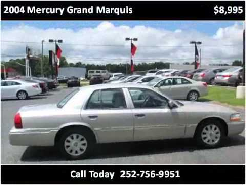 2004 mercury grand marquis used cars greenville nc youtube. Black Bedroom Furniture Sets. Home Design Ideas