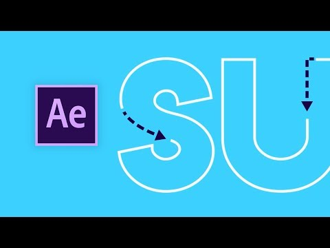 Animated Stroke In After Effects (Easy)