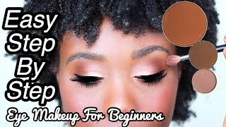 BASIC EYESHADOW TUTORIAL FOR BEGINNERS I How To Apply Eyeshadow - STEP BY STEP I Rose Kimberly
