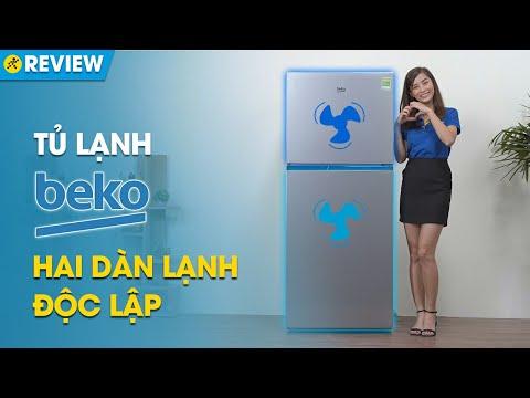 Tủ lạnh Beko 340L:  bảo quản rau củ cực tốt bằng ánh sáng ba màu (RDNT371I50VS) • Điện máy XANH