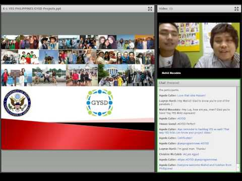YES Alumni Webinar: Planning for Global Youth Service Day