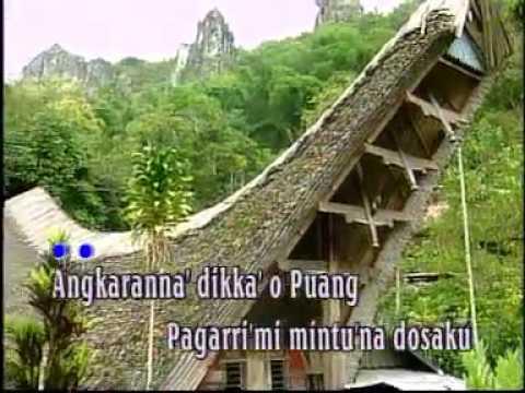 Lagu Rohani Toraja  Angkaranna' Puang  By Trio Bambana Sion