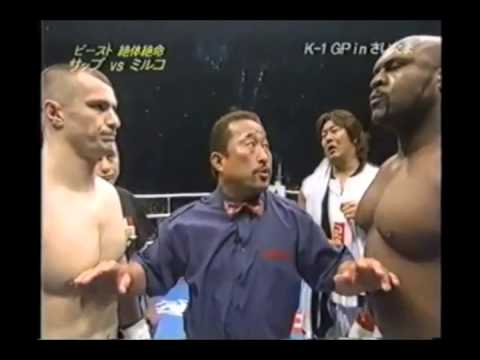BOB SAPP VS. MIRKO CRO COP - Dream Elite Throwdown of the We