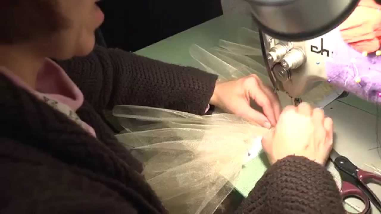 8cd8df32e7c1 Constructing a Classical Ballet Tutu (Part 4: Sewing Layers to the Panty) -  The University of Akron - YouTube