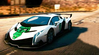 Need For Speed Rivals - Gameplay With Lamborghini Veneno [NFS] (PC Gameplay)