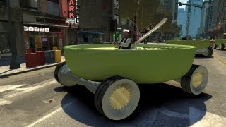Grand Theft Auto Iv - Bowl Of Soup Car (mod) Hd