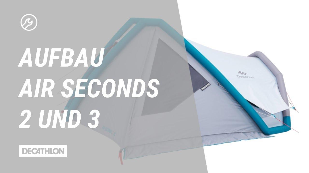 sale retailer 3f4a4 f0aa3 Zelt Air Seconds Fresh&Black 2 und 3 Aufbau   Anleitung