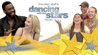 'Dancing with the Stars'' Evanna Lynch and Keo Motsepe Bring Magic to Ellen's Cube!