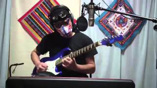 I Played Lead Guitar with Pre-recorded Rhythm Guitar (Played by Me)...