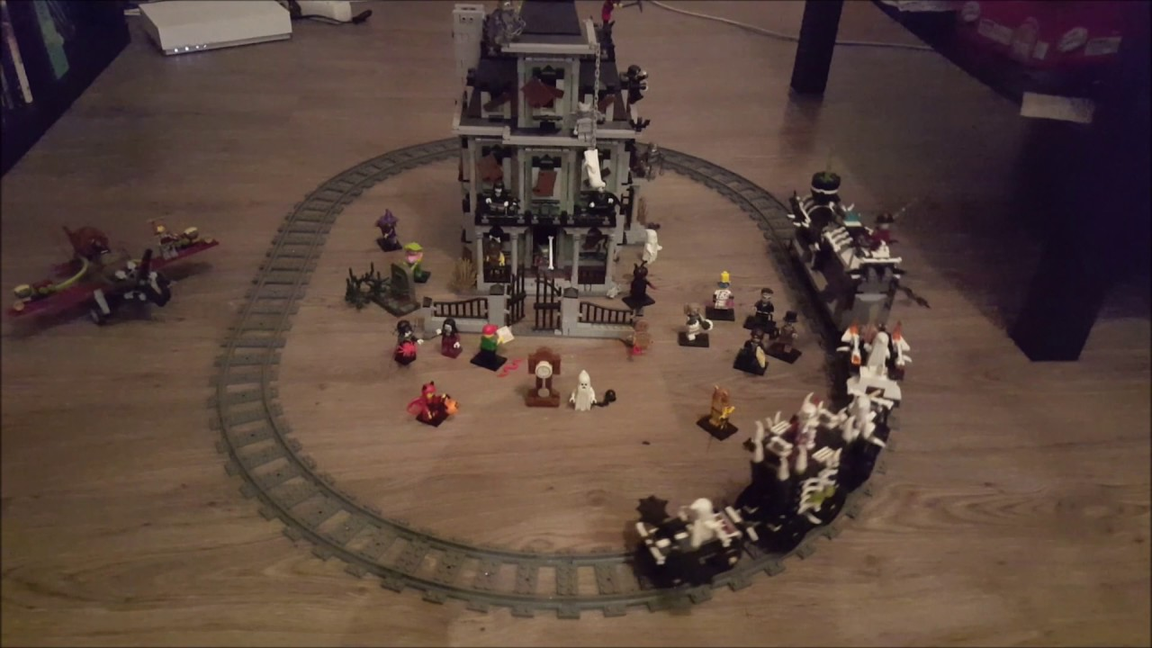 Train Fantome Lego Halloween Youtube