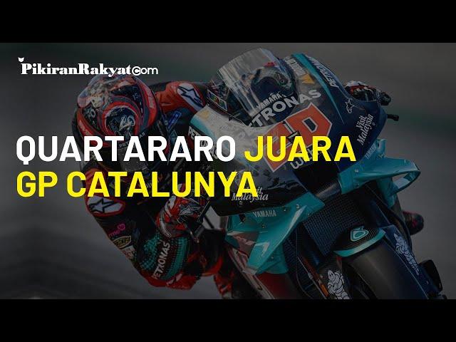 Hasil Balapan MotoGP Catalunya 2020, Fabio Quartararo Juara Balapan untuk Kali Ketiganya