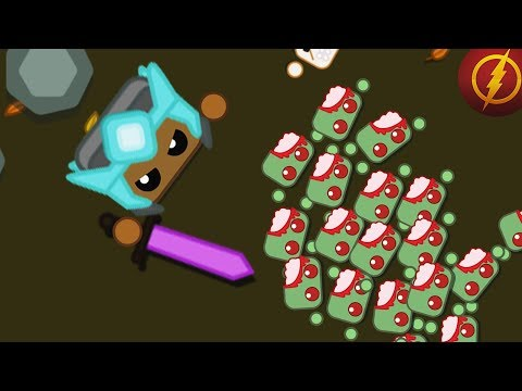 Starve.io - The Best Base in Zombie Mode // 1 vs All Zombies [PvP] // Part 3