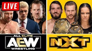 🔴 AEW Dynamite Live Stream & WWE NXT Live Stream December 11th 2019 - Full Show live reaction