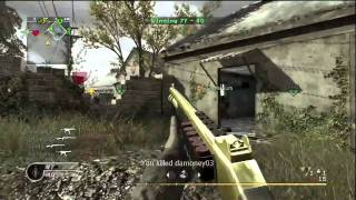 Call of Duty 4 M10 Rushing on Overgrown!