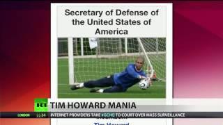Defense Secretary Tim Howard? Wikipedia says so