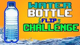 WATER BOTTLE FLIP CHALLENGE!!!БУТЫЛКА ВОДЫ ЧЕЛЛЕНДЖ :3