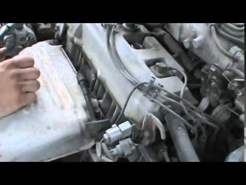 1999 Toyota Camry Spark Plug Removal and Replacement - YouTube