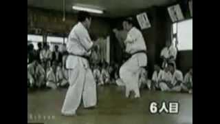 """Kyokushin - kancho Shokei """"Akiyoshi"""" Matsui"""