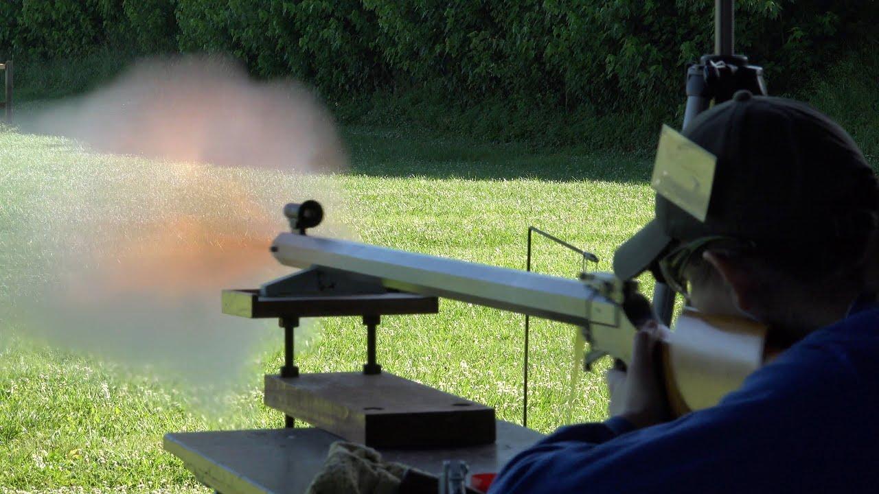 Rifle Blast Best Rifle Shots Ii Black Powder Rifle Firing