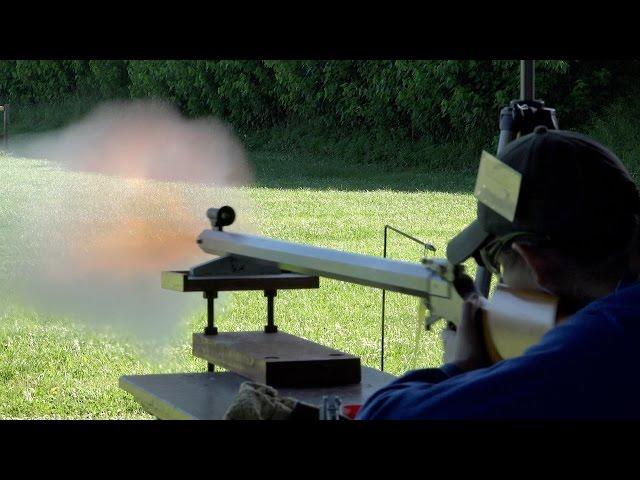 Rifle Blast: Best Rifle Shots II Black Powder Rifle Firing - Muzzleloader Rifle Blasts Video NMLRA