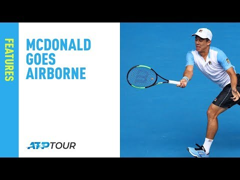 McDonald Goes Airborne At Delray Beach Open 2019