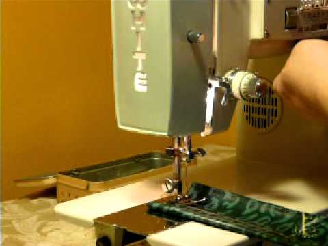 BEAST VINTAGE WHITE 40 Heavy Duty 4040amp SEWING MACHINE YouTube Cool White Heavy Duty Sewing Machine