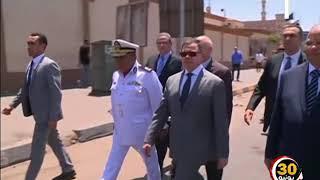 السيد وزير الداخلية يقوم بجولة ميدانية تفقد خلالها الحالة الأمنية بنطاق محافظتى القاهرة والجيزة