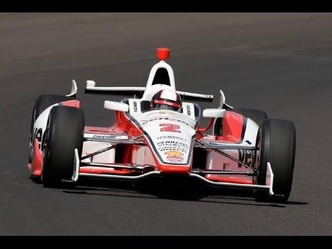 2014 Indy 500 Juan Pablo Montoya Race Highlights