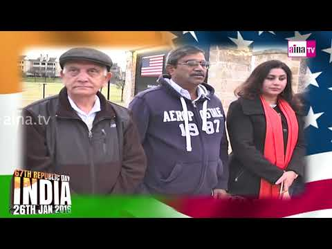 67th Indian Republic Day Celebrations at Gandhi Memorial Park at Dallas