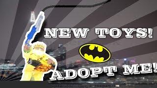 NEW Toys UPDATE IN ADOPT ME! (I'M BATMAN) - Roblox
