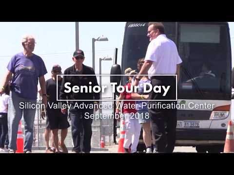 Savvy Seniors in Silicon Valley tour the Advanced Water Purification Center