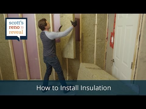 How to Install Insulation