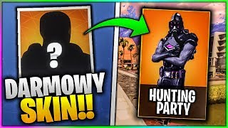 NEW FREE SKIN IN FORTNITE SEASON 6! HUNTING PARTY!!