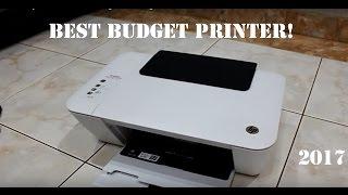 Best Budget Printer 2017 HP Deskjet 1515 Ink Advantage Unboxing!