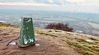 A Walk Around Frodsham And Helsby Cheshire 20 Jan 2019. Helsby Hill To Beacon Hill. Superb