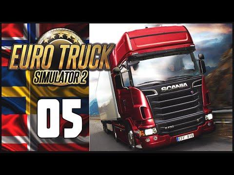 Euro Truck Simulator 2 - Ep.05 - Scandinavia DLC Adventure