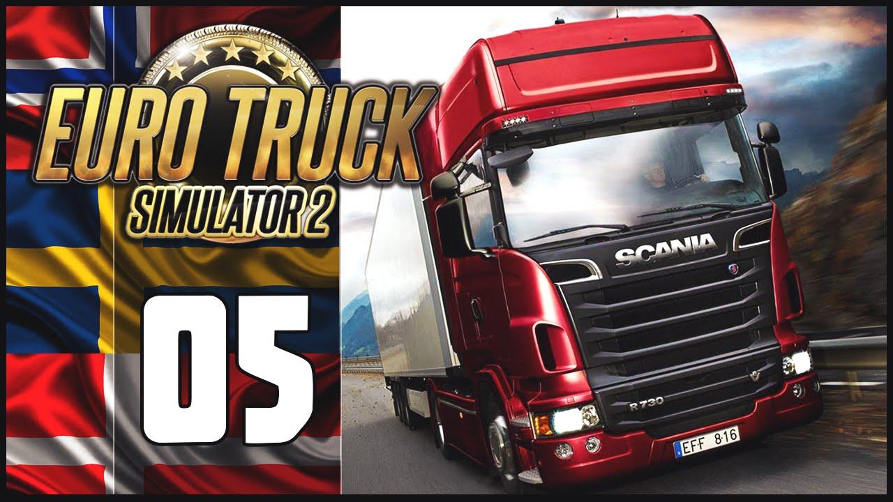 euro truck simulator 2 scandinavia dlc adventure. Black Bedroom Furniture Sets. Home Design Ideas