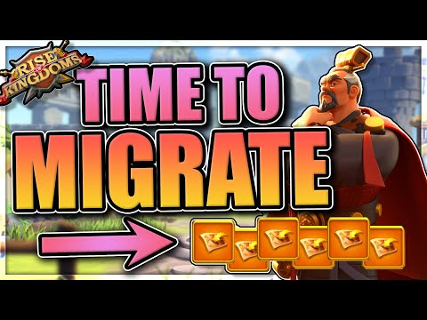 How to Migrate in Rise of Kingdoms [updated 2020 passport cost]
