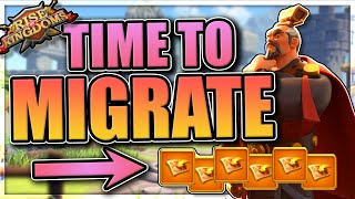 How to Migrate iฑ Rise of Kingdoms [updated 2020 passport cost]