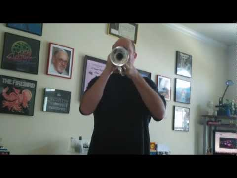 Penny Lane - Piccolo Trumpet - Bob Wagner - Fab Faux Version