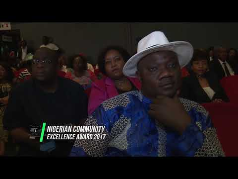 Nigeria Community Excellence Awards South Africa 2017.