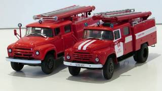 Доробка 3 випуску автолегенды СССР вантажівки ЗІЛ - 130 Ац - 40