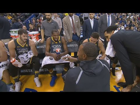 Steve Kerr Lets Players Coach! Warriors Win By 46 vs Suns! 2017-18 Season