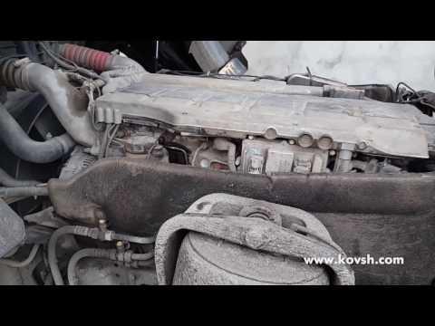 Как определить что стучит: двигатель, или форсунка? MAN TGA 18.430 FA 10.5d